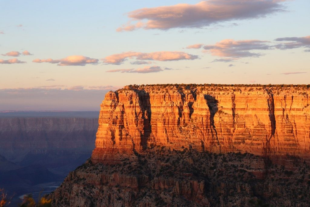 Grand Canyon in an RV