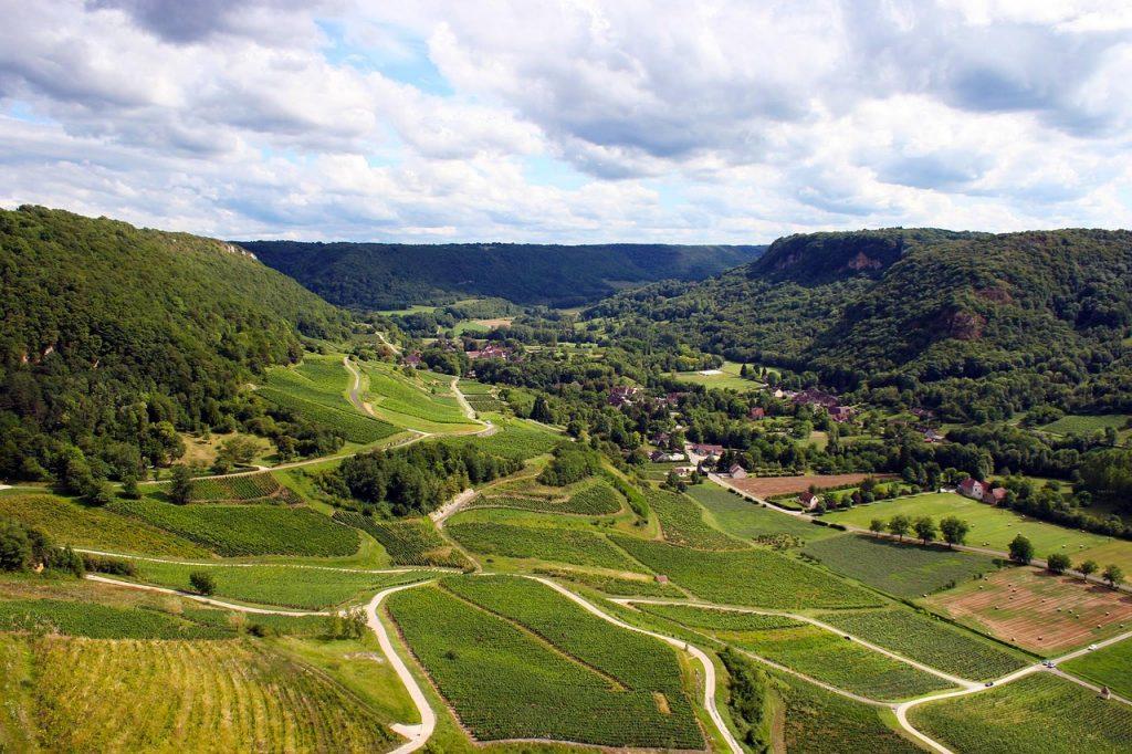 Jura region by Campervan