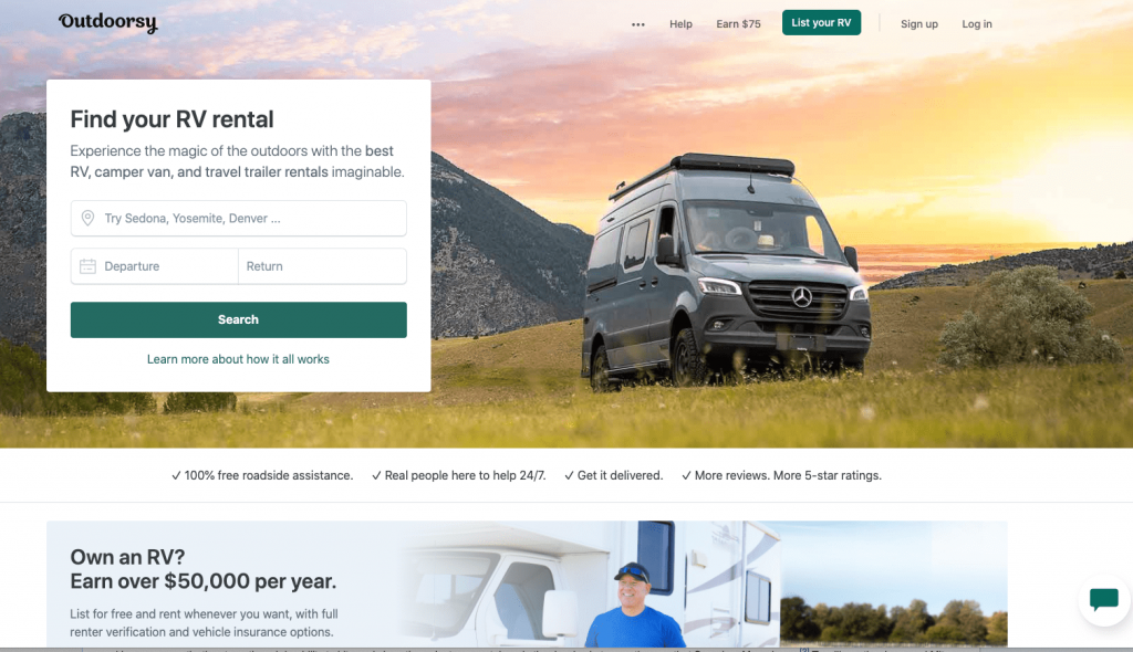 Outdoorsy RV Review